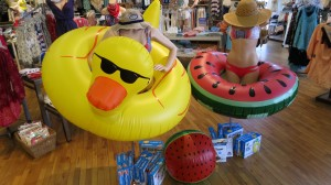 Fun fool floats for the pool or beach!