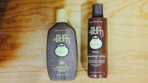 Sun Bum Sun Screen and Browning Oil